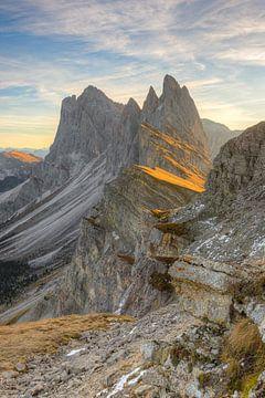 Seceda Zuid-Tirol van Michael Valjak