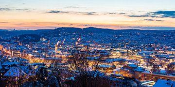 Winter in Stuttgart von Werner Dieterich