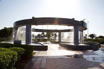 Abu Dhabi Fountain van Stefanie Hoekstra