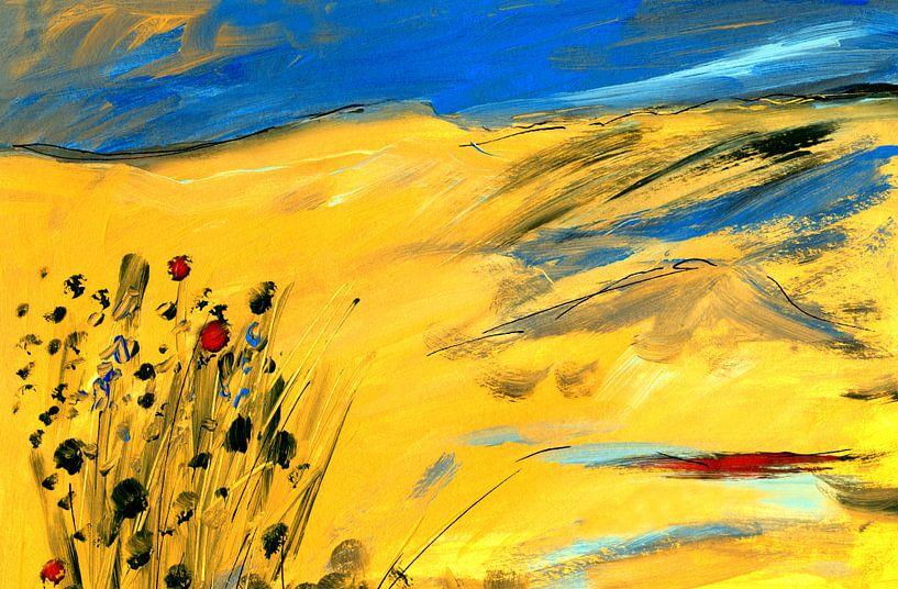Blumen in der Stille 1 von Claudia Gründler