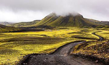 IJsland - Landmannalaugar van Henk Verheyen