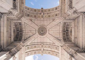 Architectuur van Lissabon vanuit een ander perspectief.