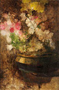 Blumen in einem Topf, José Júlio de Sousa-Pinto