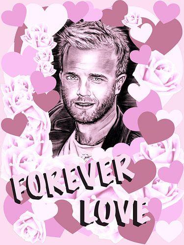 Gary Forever Love In Pink van