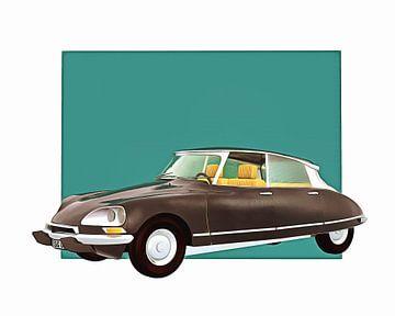 Klassieke auto – Oldtimer Citroen DS Pallas