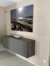 Klantfoto: De zandduinen van Boa Vista van Jaap van Lenthe, op aluminium
