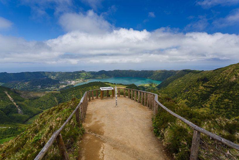 Boca do Inferno, Sete Cidades, Azoren, Portugal van Pieterpb
