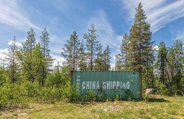China shipping in Zweden van Marcel Kerdijk