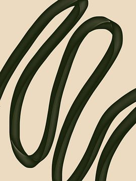Minimal abstract - nana van YOPIE illustraties