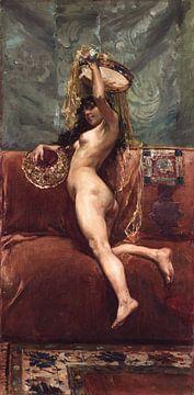 Akt,1885 von Atelier Liesjes