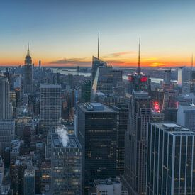 Skyline Manhattan - New York City sur Marcel Kerdijk
