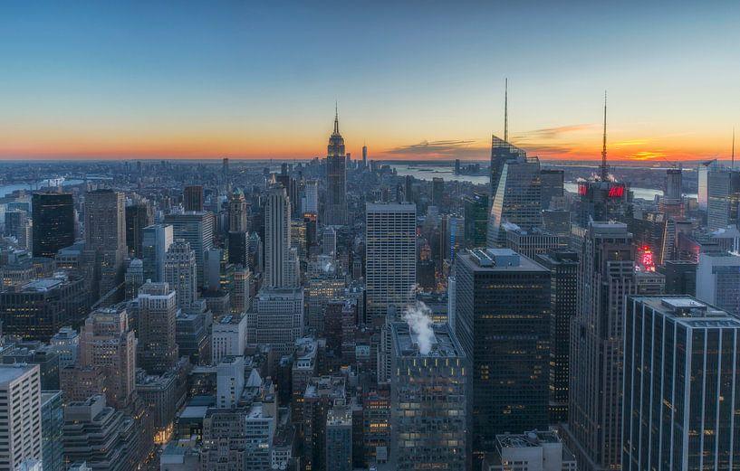 Skyline Manhattan - New York City van Marcel Kerdijk