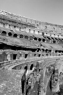 """Drieluik """"inside the Colosseum"""" 01 van 03 van Gert-Jan Besselink"""