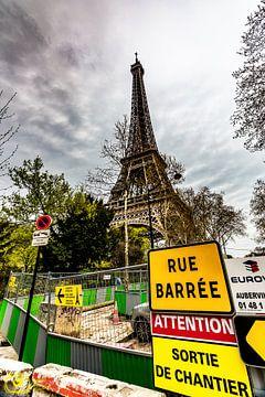 La tour Eifel von Frames by Frank