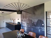Kundenfoto: Oostpoort Delft, schwarzweiß von Tux Photography