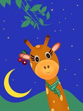 giraffen dromen van Marion Tenbergen