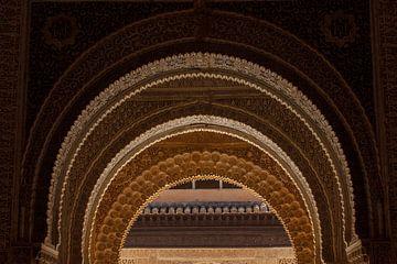 Nasride Palace - La Alhambra de Granada sur Natasja Tollenaar
