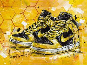 Wu-Tang x Nike Dunk High LE schilderij