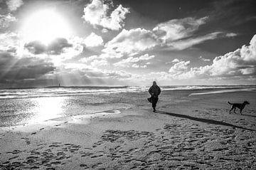 Spaziergang Vlieland von Annelies Martinot