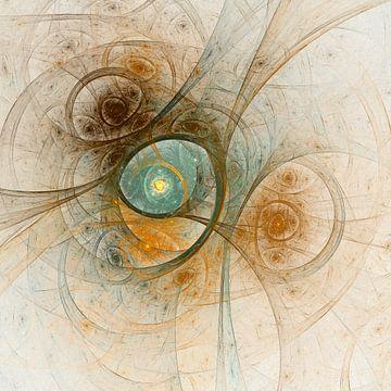 Fractal Dream #1 van Benedikt Amrhein