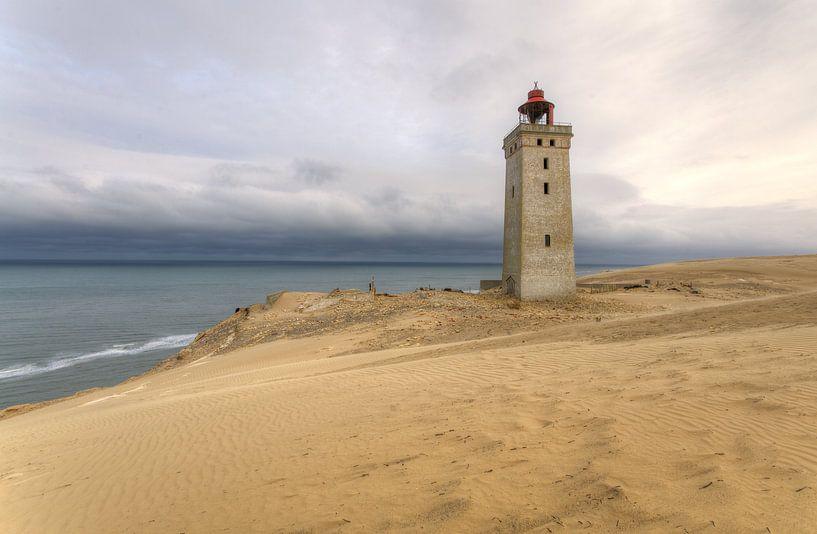 Rubjerg Knude op Jutland, Denemarken van Erik Borst