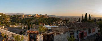 Alhambra - Granada (Panorama) von Jack Koning