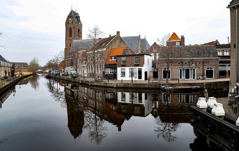 De grachten van Oudewater... van Bert - Photostreamkatwijk