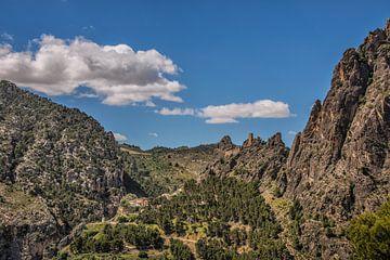 Bergland Sierra de Cazorla in Zuid- Spanje sur Harrie Muis