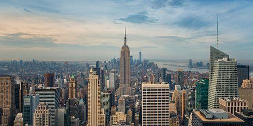 New York - Empire State Building in de vroege ochtend