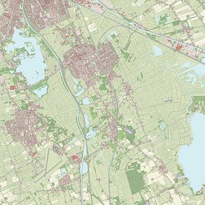 Kaart vanHaren
