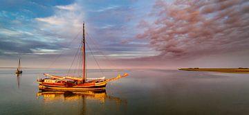 Haven van Sil Texel wachten op hoog water van