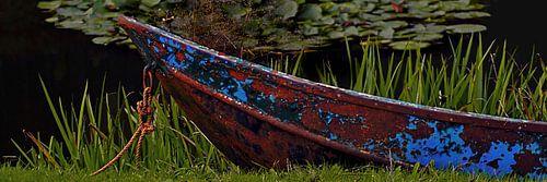 Oude boot van