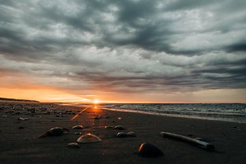 Sonnenuntergang Vlieland von Arthur Janzen