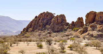 Felsformation in Namibia von Achim Prill