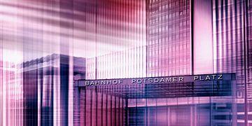 Potsdamer Platz  van Violetta Honkisz