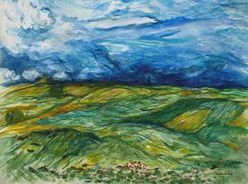 Inspiriert von van Gogh. von Ineke de Rijk