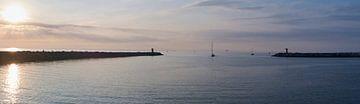 Panorama-Hafenkopf Scheveningen von Sjoerd van der Hucht