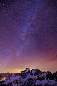 Bergen en Melkweg van
