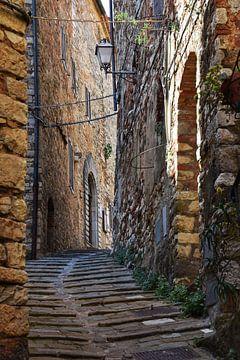 Tuscany, Campiglia Marittima von Martin Van der Pluym