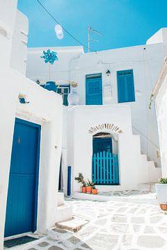 Griechische Ferienhäuser in Lefkes, Paros von Joep Brocker