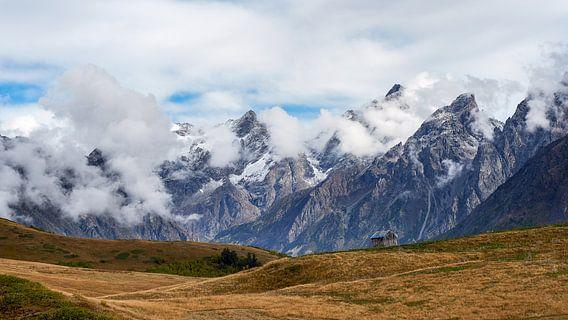 Eenzame berghut