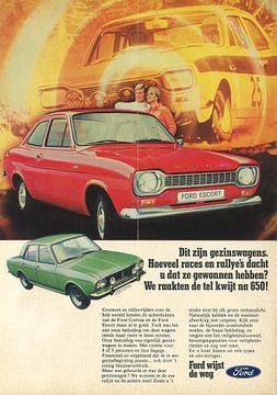 Ford escort reclame van Jaap Ros