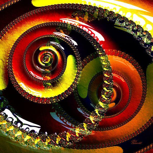 Fractal Swirl Colorful