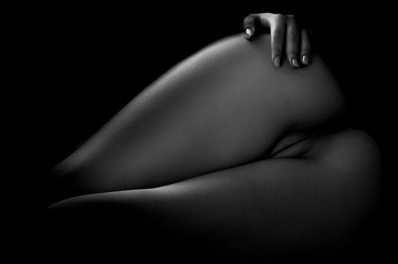 Gesäß und Vagina im tiefliegenden Körperbild von Art By Dominic