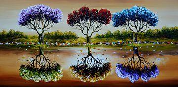 Trees sur Gena Theheartofart
