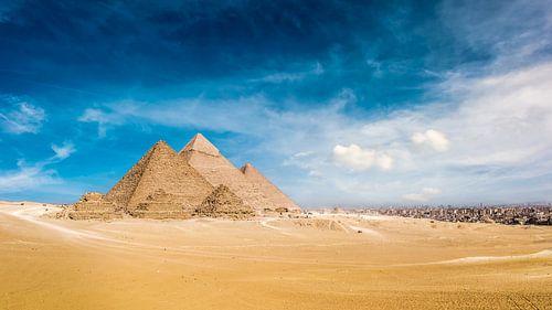 Great Pyramids of Giza van Günter Albers