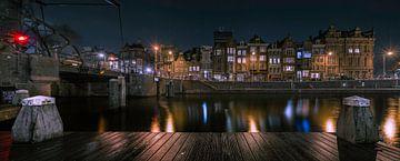 Amsterdam bei Nacht von Jeroen Mondria