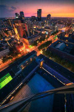 Rotterdam Vertigo - Skyscraper van Vincent Fennis