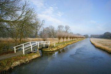 Winter in de polder von Alice Berkien-van Mil
