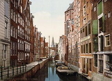 Oudezijds Kolk, Amsterdam sur Vintage Afbeeldingen